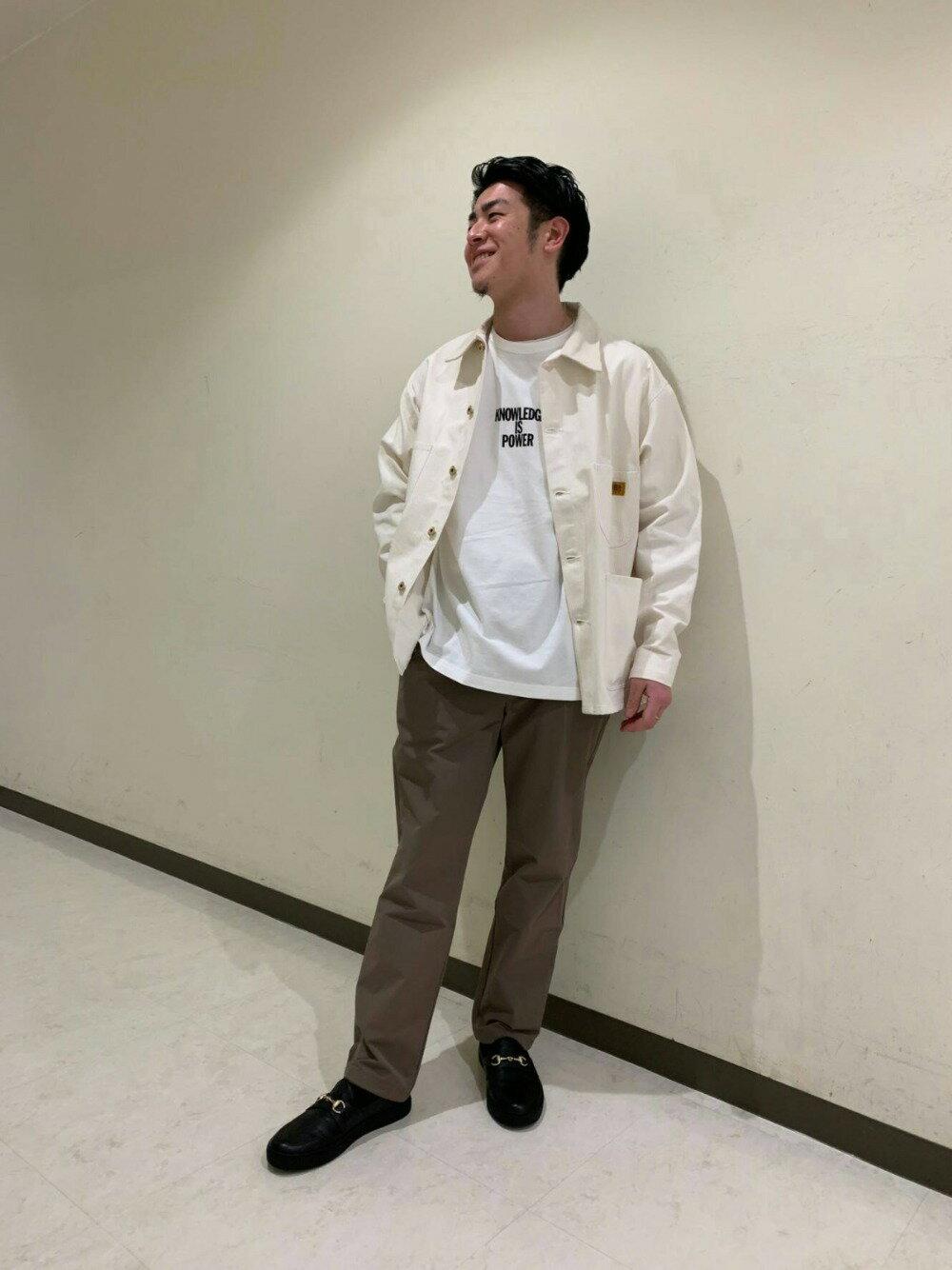 BEAUTY & YOUTH UNITED ARROWSのBY 360 MASTER  ベルテッド 1P イージーパンツ 【セットアップ対応】を使ったコーディネートを紹介します。|Rakuten Fashion(楽天ファッション/旧楽天ブランドアベニュー)1102657