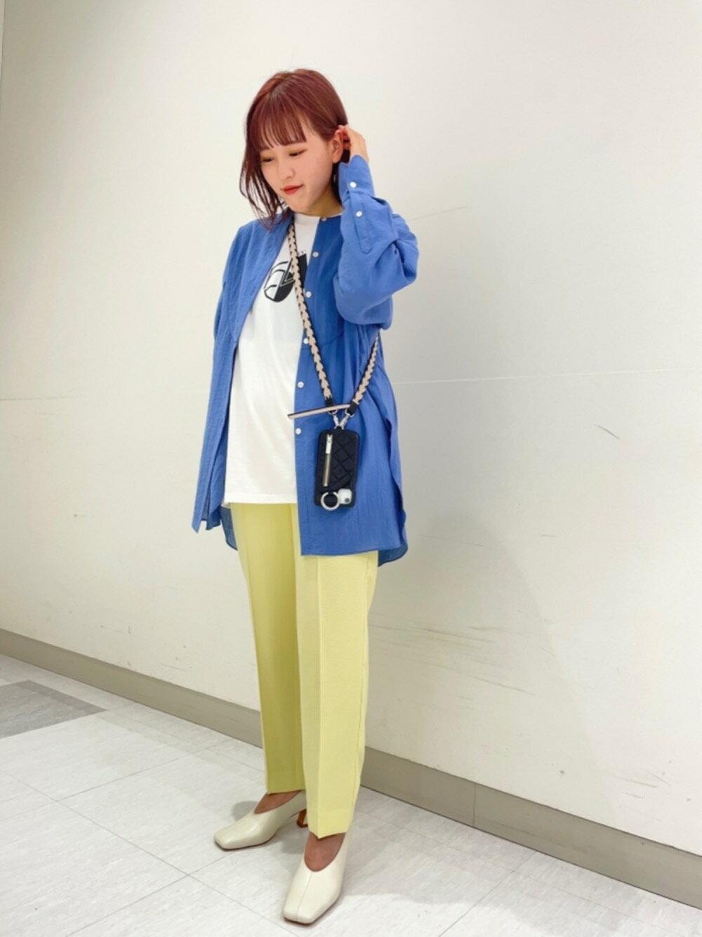 BEAUTY & YOUTH UNITED ARROWSのBY レザースクエアトゥ ヘンケイヒールパンプスを使ったコーディネートを紹介します。|Rakuten Fashion(楽天ファッション/旧楽天ブランドアベニュー)1103211