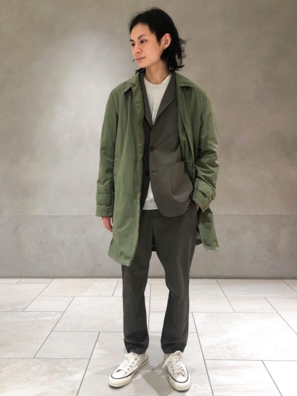 BEAUTY & YOUTH UNITED ARROWSのBY GIZA コットン リラックス ニットを使ったコーディネートを紹介します。|Rakuten Fashion(楽天ファッション/旧楽天ブランドアベニュー)1103418