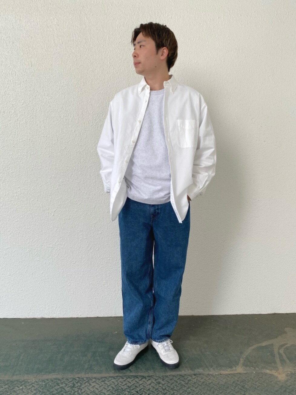 BEAUTY & YOUTH UNITED ARROWSのBY バルーンシルエット 5P スラブデニムパンツを使ったコーディネートを紹介します。|Rakuten Fashion(楽天ファッション/旧楽天ブランドアベニュー)1103339