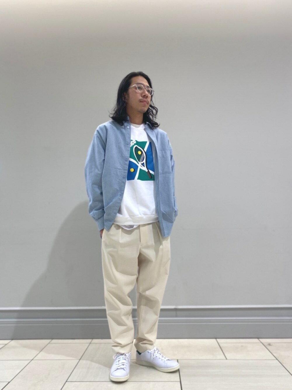 BEAUTY & YOUTH UNITED ARROWSのUNITED ARROWS by KANEKO OPTICAL Kevin/アイウェア MADE IN JAPANを使ったコーディネートを紹介します。 Rakuten Fashion(楽天ファッション/旧楽天ブランドアベニュー)1103545