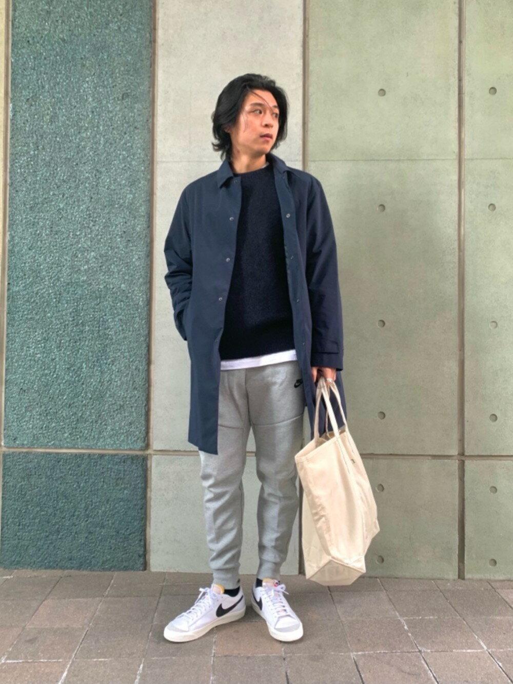 BEAUTY & YOUTH UNITED ARROWSの<NIKE(ナイキ)> TECH SWT PT/テック フリース ジョガー パンツを使ったコーディネートを紹介します。|Rakuten Fashion(楽天ファッション/旧楽天ブランドアベニュー)1103783