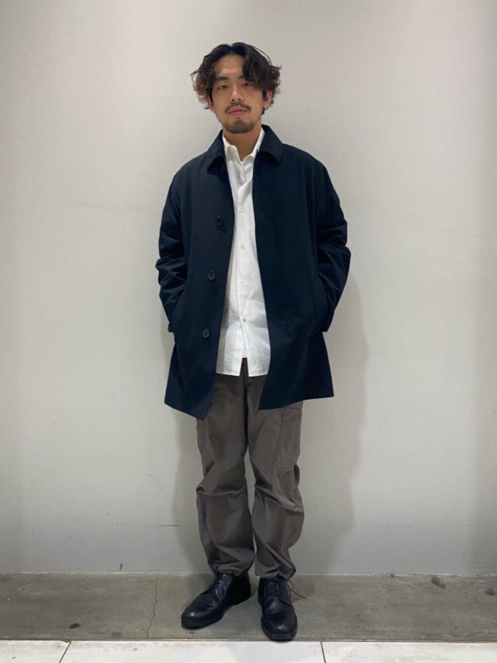 BEAUTY & YOUTH UNITED ARROWSのBY DULL PE 6POC カーゴパンツを使ったコーディネートを紹介します。|Rakuten Fashion(楽天ファッション/旧楽天ブランドアベニュー)1103972