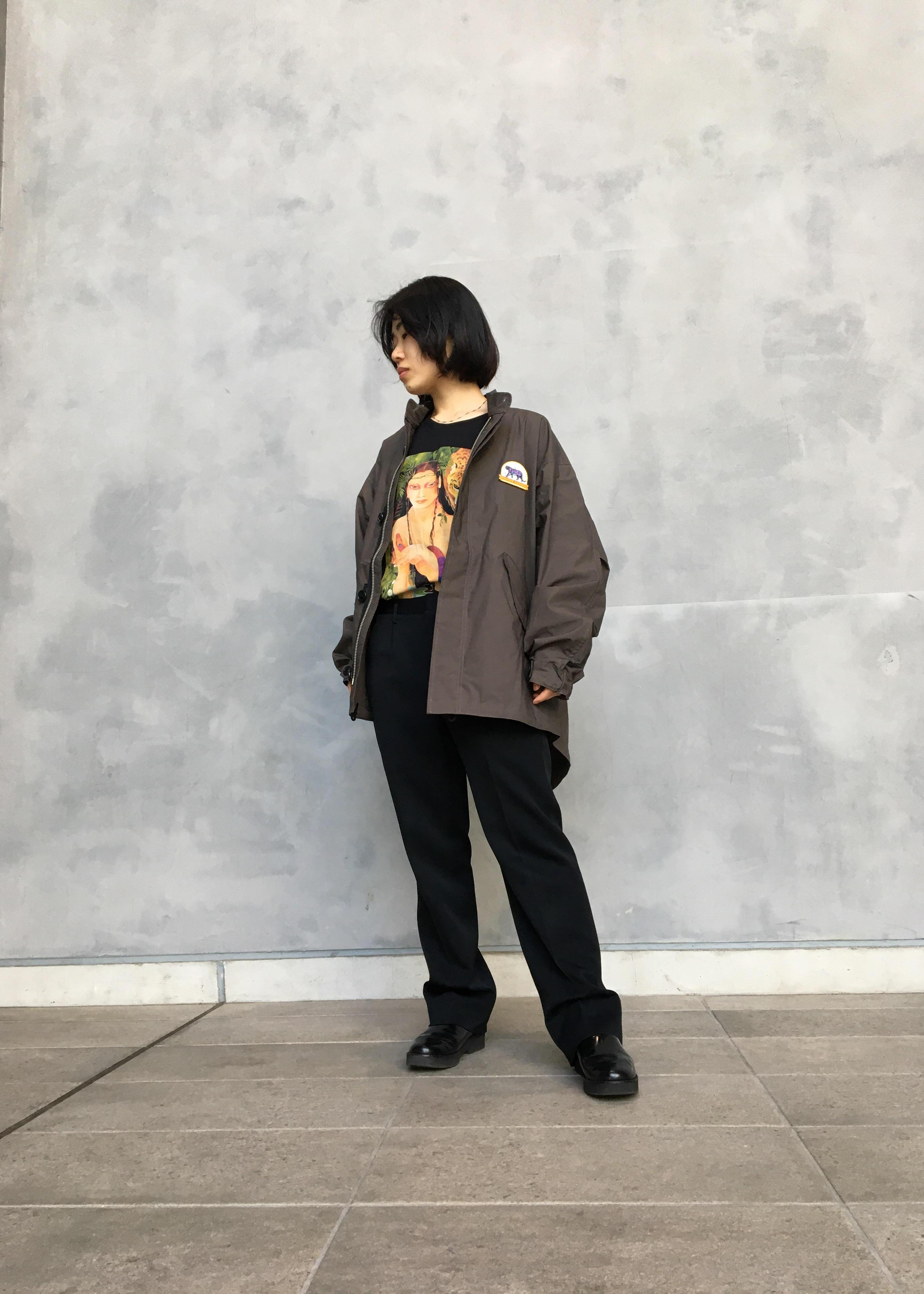 bonjour recordsのKouichiro Takagi 別注ワッペン ショートモッズコートを使ったコーディネートを紹介します。|Rakuten Fashion(楽天ファッション/旧楽天ブランドアベニュー)1104866