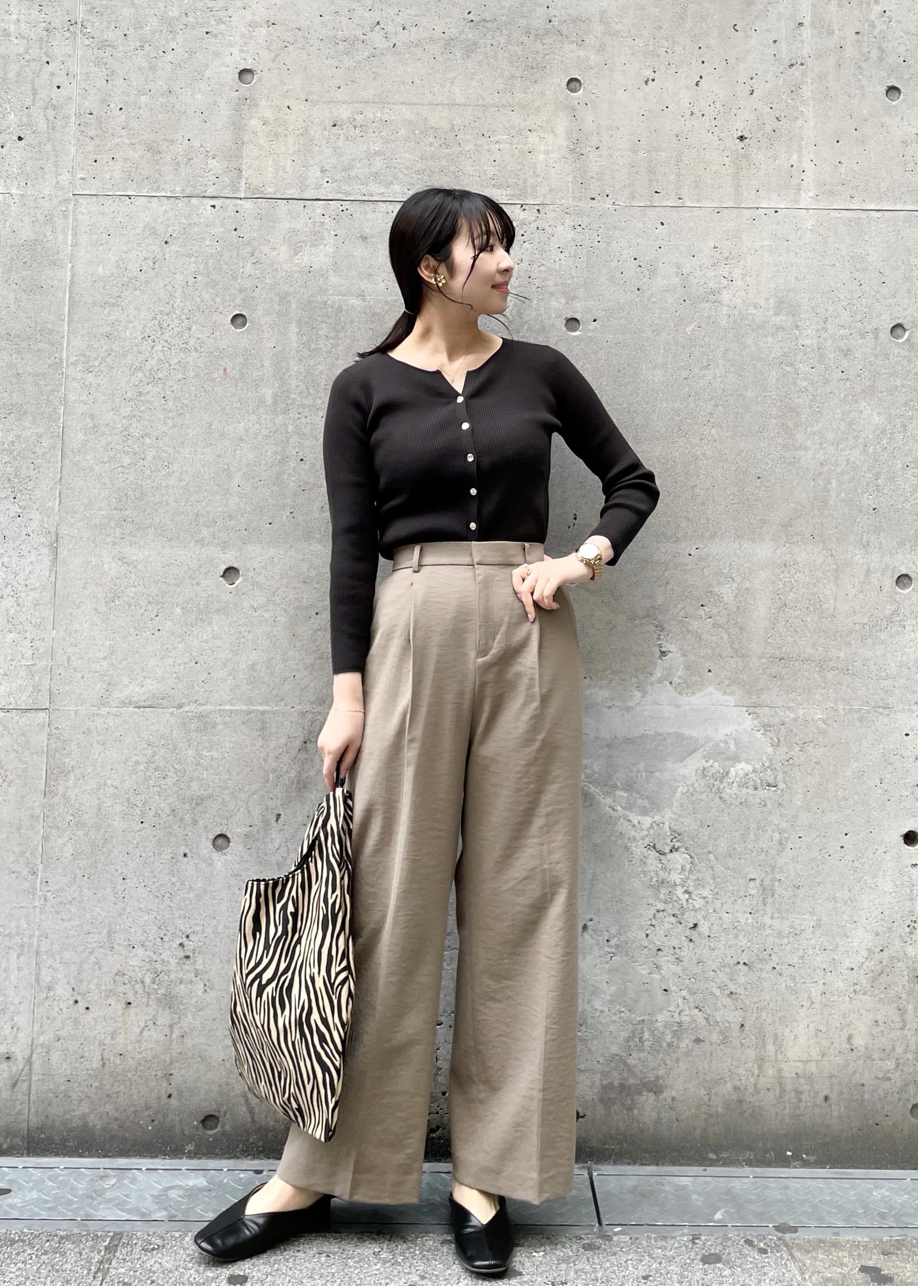 ROPE' PICNICの【セットアップ対応】麻混タックワイドパンツを使ったコーディネートを紹介します。|Rakuten Fashion(楽天ファッション/旧楽天ブランドアベニュー)1104980