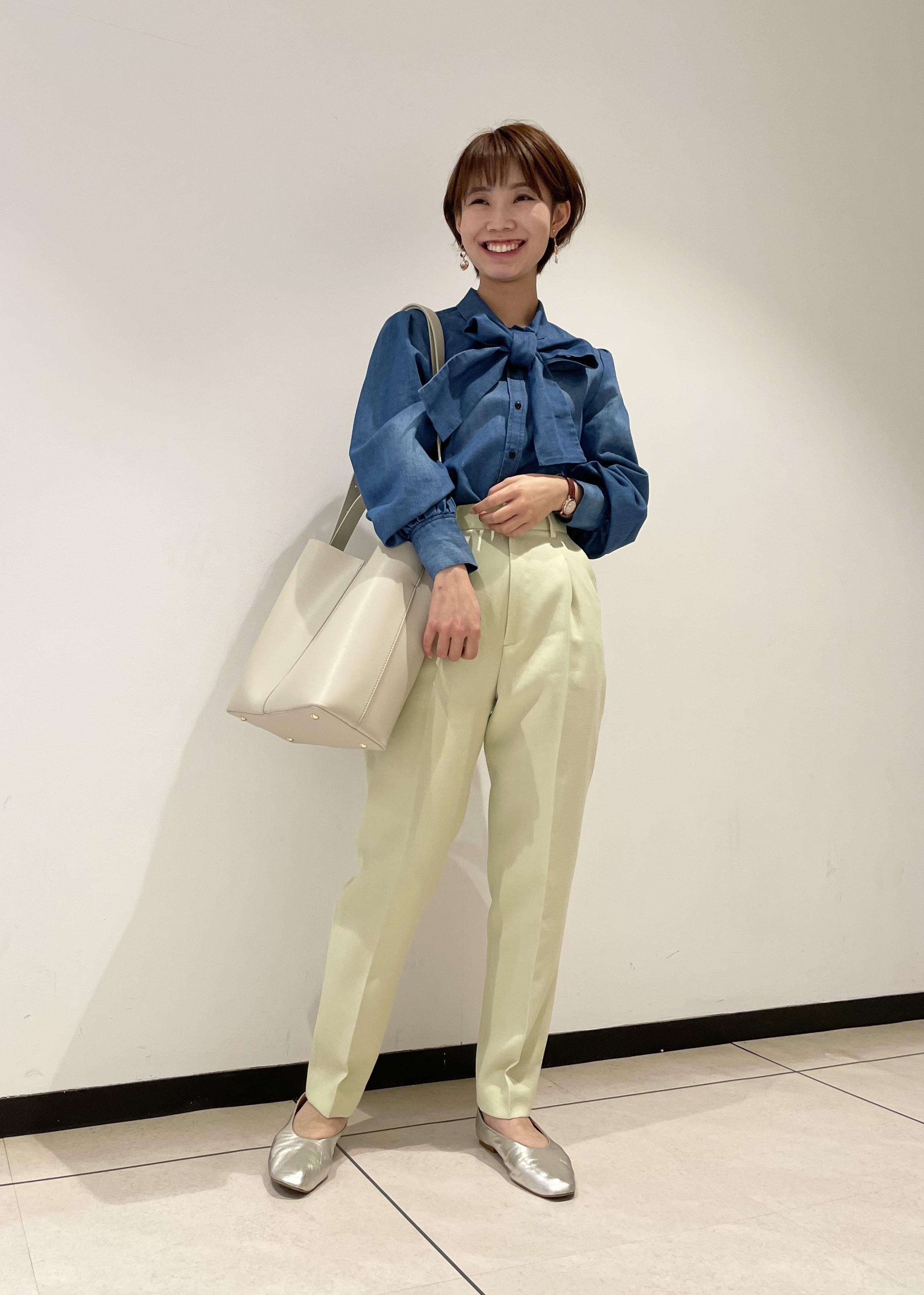 ROPE'の【A4対応】【2WAY】ワンハンドルバケットトートバッグを使ったコーディネートを紹介します。|Rakuten Fashion(楽天ファッション/旧楽天ブランドアベニュー)1105043