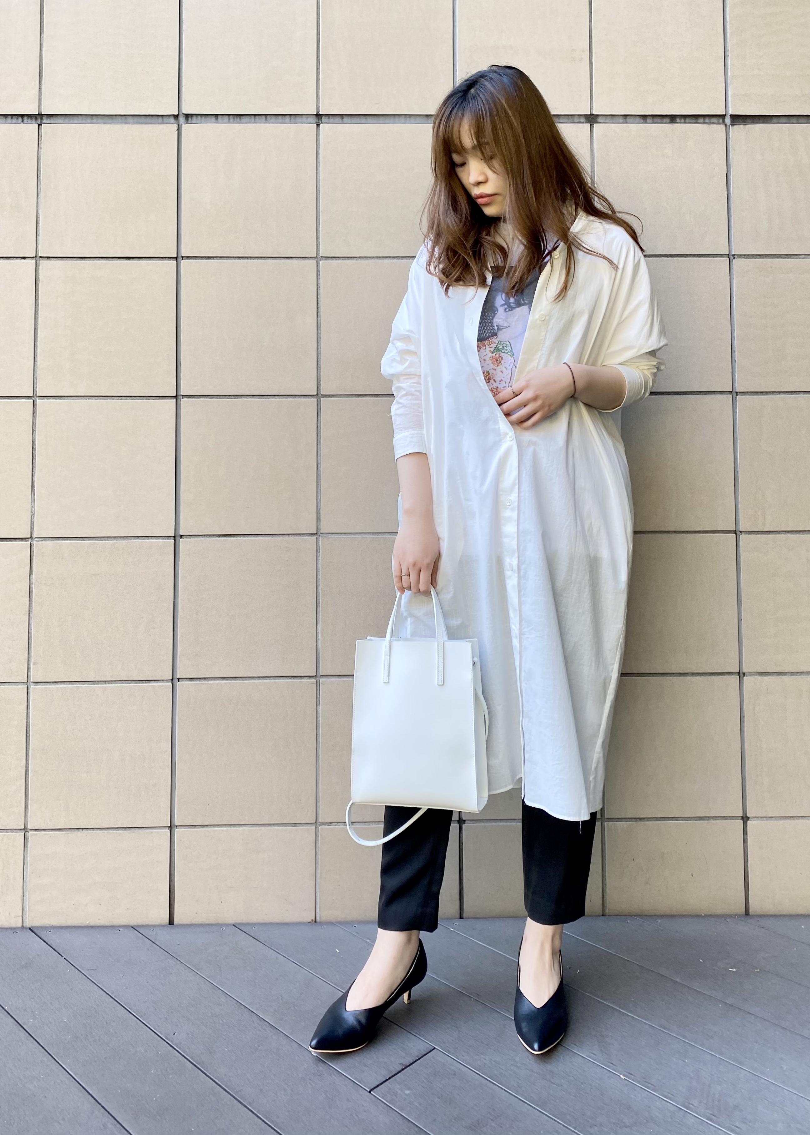 SALON adam et rope'の【YAHKI for SALON】[選べる6色]別注マルチウェイ スクエアトートバッグを使ったコーディネートを紹介します。|Rakuten Fashion(楽天ファッション/旧楽天ブランドアベニュー)1094389