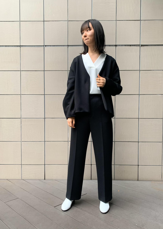 SALON adam et rope'の【2WAY】スキッパー2WAYドルマンプルオーバーを使ったコーディネートを紹介します。|Rakuten Fashion(楽天ファッション/旧楽天ブランドアベニュー)1094391