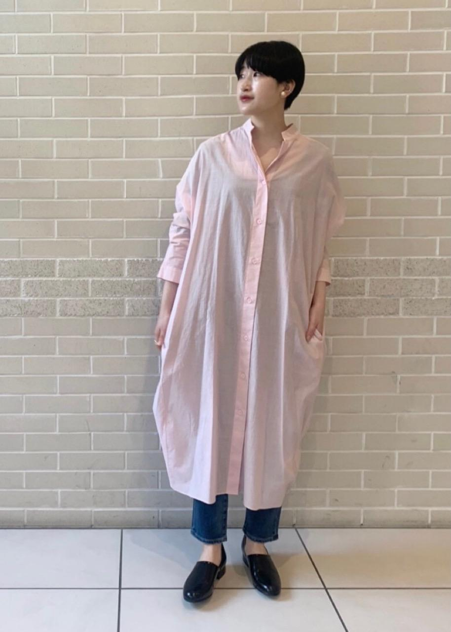 SALON adam et rope'のドルマンシャツワンピース[MEDI Veil]【抗菌・消臭・UVケア】を使ったコーディネートを紹介します。|Rakuten Fashion(楽天ファッション/旧楽天ブランドアベニュー)1094432