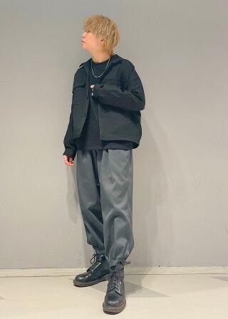 JUNRedのウォッシャブルサージドルマンショートブルゾンを使ったコーディネートを紹介します。|Rakuten Fashion(楽天ファッション/旧楽天ブランドアベニュー)1094946