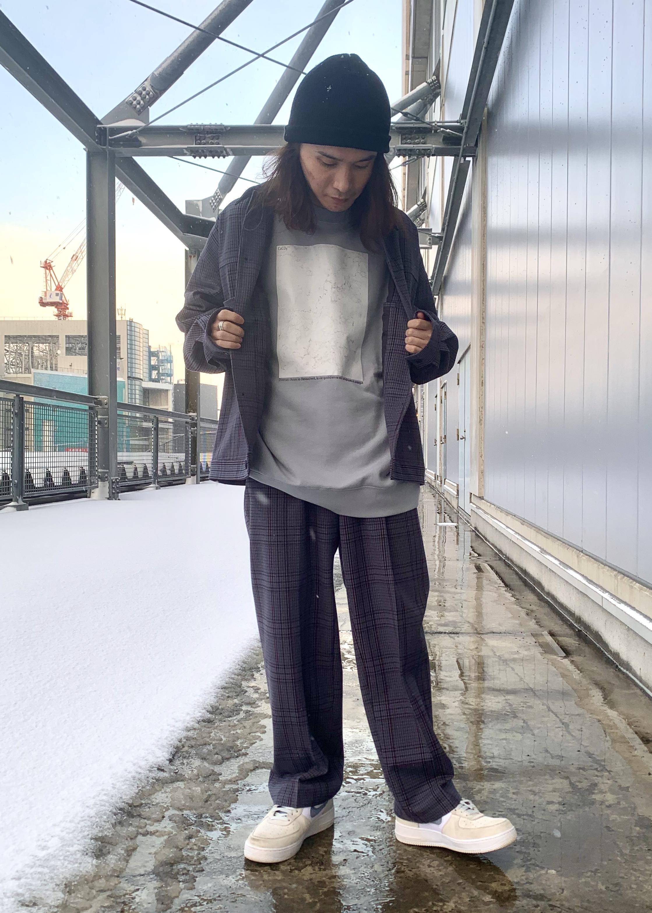 JUNRedの大理石スウェットを使ったコーディネートを紹介します。 Rakuten Fashion(楽天ファッション/旧楽天ブランドアベニュー)1094697