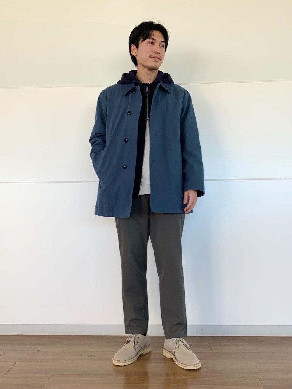 BEAUTY & YOUTH UNITED ARROWSのBY ハイゲージ コットン スウェット カットソーを使ったコーディネートを紹介します。|Rakuten Fashion(楽天ファッション/旧楽天ブランドアベニュー)1095212