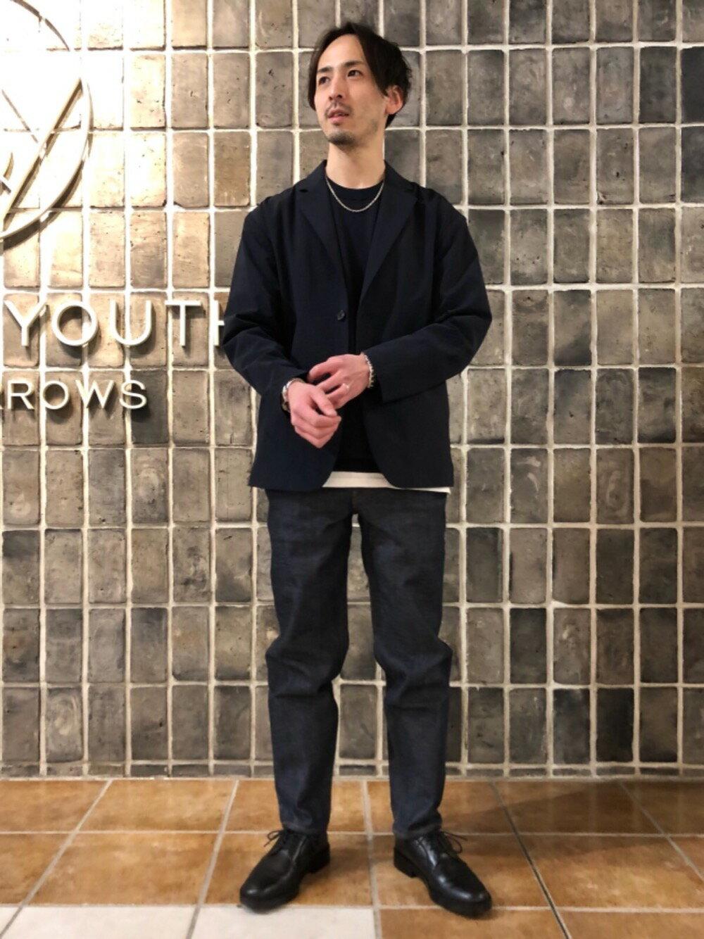 BEAUTY & YOUTH UNITED ARROWSのBY GIZA コットン リラックス ニットを使ったコーディネートを紹介します。|Rakuten Fashion(楽天ファッション/旧楽天ブランドアベニュー)1095206