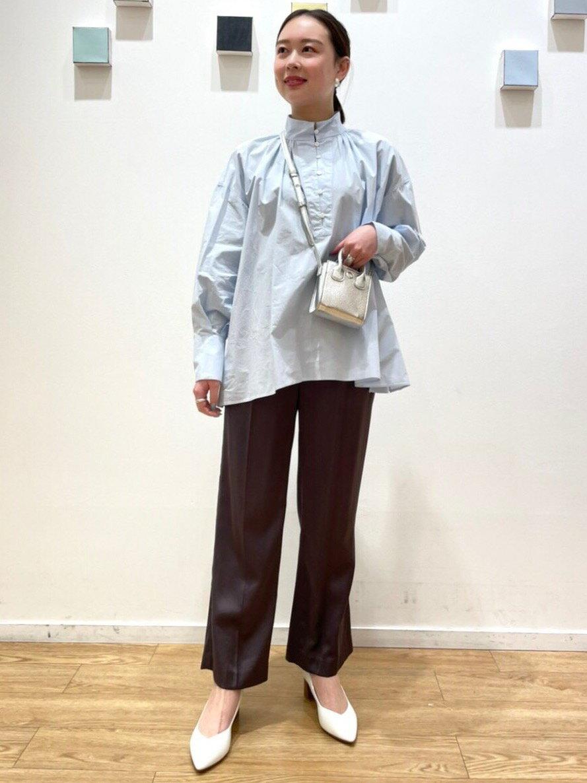 UNITED ARROWS green label relaxingの◆model NO.05◆D ポインテッド チャンキー パンプス(5cmヒール)を使ったコーディネートを紹介します。|Rakuten Fashion(楽天ファッション/旧楽天ブランドアベニュー)1095407