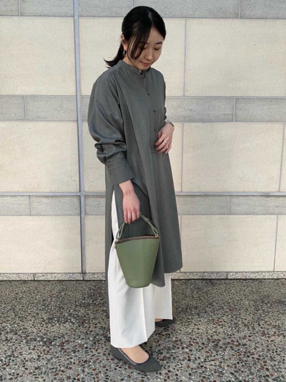THE STATION STORE UNITED ARROWS LTD.の<closet story>パイピング ポインテッド フラットパンプスを使ったコーディネートを紹介します。|Rakuten Fashion(楽天ファッション/旧楽天ブランドアベニュー)1095874