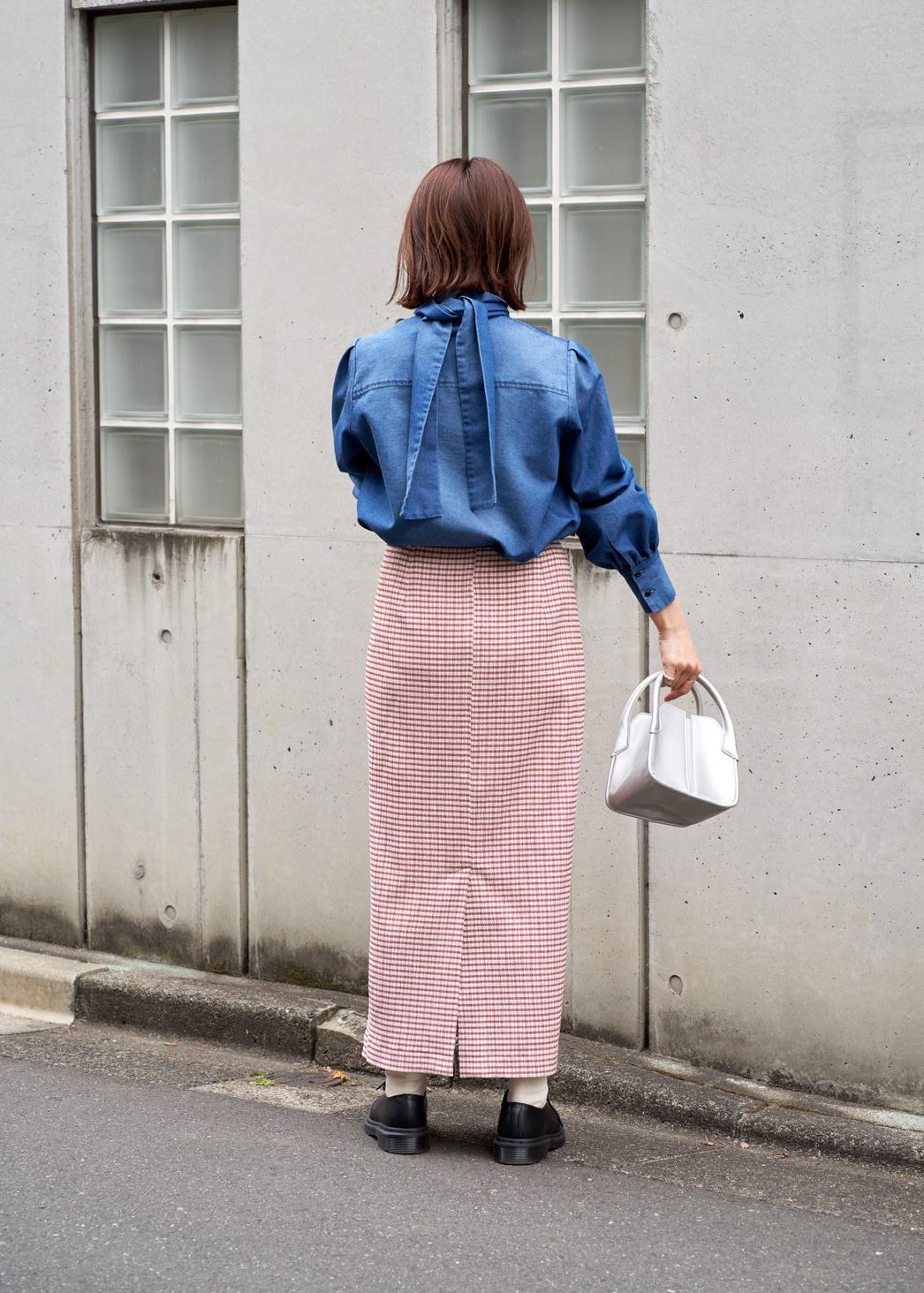 ROPE'の【2WAY】キューブミニバッグを使ったコーディネートを紹介します。|Rakuten Fashion(楽天ファッション/旧楽天ブランドアベニュー)1096795