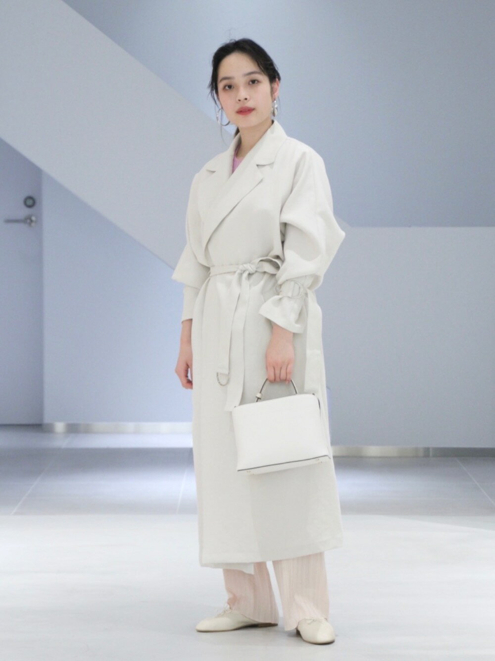 UNITED ARROWSのUBC リブ クルーネック ニットを使ったコーディネートを紹介します。|Rakuten Fashion(楽天ファッション/旧楽天ブランドアベニュー)1098542