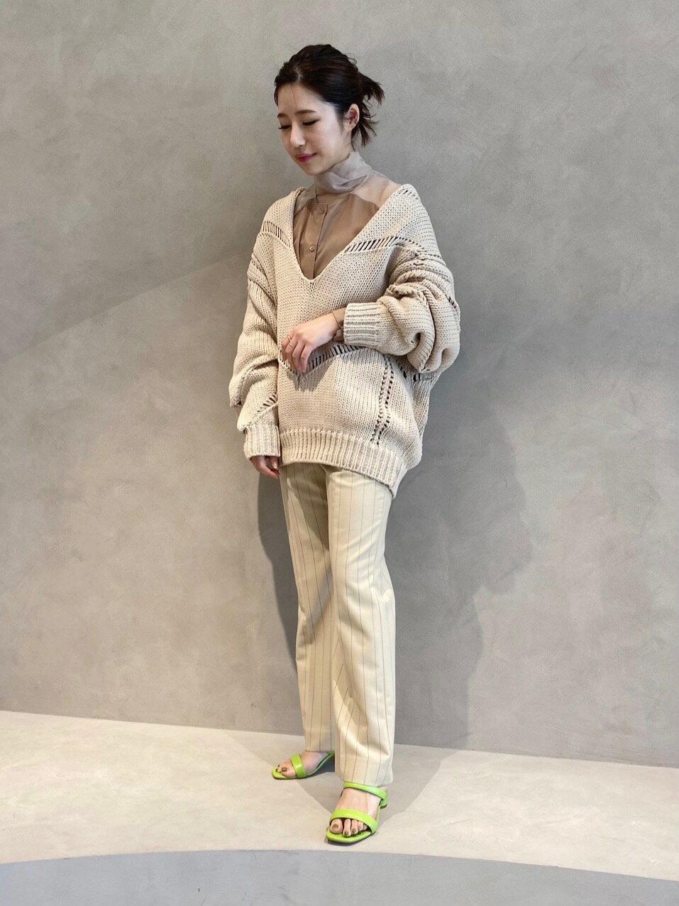UNITED ARROWSの<AEWEN MATOPH(イウエン マトフ)>TRO ストライプ パンツを使ったコーディネートを紹介します。|Rakuten Fashion(楽天ファッション/旧楽天ブランドアベニュー)1098492