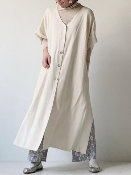 Bou Jeloudの前後2wayポンチョカーディガンを使ったコーディネートを紹介します。|Rakuten Fashion(楽天ファッション/旧楽天ブランドアベニュー)1091768