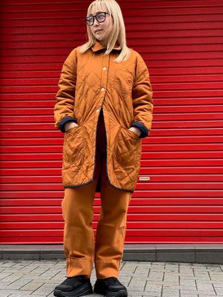 Levi'sのLR QUILTED CHORE JACKET QUILTED RINSEを使ったコーディネートを紹介します。|Rakuten Fashion(楽天ファッション/旧楽天ブランドアベニュー)1091782