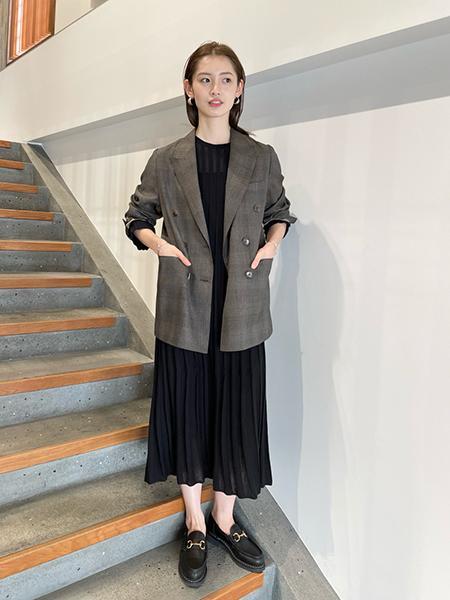 FRAMeWORKのリブニットワンピース◆を使ったコーディネートを紹介します。|Rakuten Fashion(楽天ファッション/旧楽天ブランドアベニュー)1091803