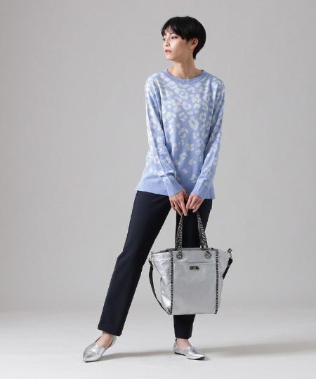 EVEX by KRIZIAの【ウォッシャブル】シャドーパンサーセーターマシーンカットソーを使ったコーディネートを紹介します。|Rakuten Fashion(楽天ファッション/旧楽天ブランドアベニュー)1091835