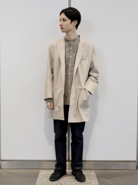 ADAM ET ROPE'のヴィンテージツイル ルーズシルエット チェスターコート/UNISEXを使ったコーディネートを紹介します。|Rakuten Fashion(楽天ファッション/旧楽天ブランドアベニュー)1091857