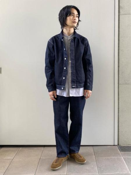 ADAM ET ROPE'の<<21SS>>アソートバンドカラーシャツを使ったコーディネートを紹介します。|Rakuten Fashion(楽天ファッション/旧楽天ブランドアベニュー)1092036