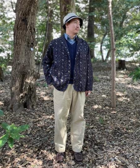 BEAMS MENのBEAMS PLUS / ニュー ワーク シャンブレーシャツを使ったコーディネートを紹介します。|Rakuten Fashion(楽天ファッション/旧楽天ブランドアベニュー)1092046