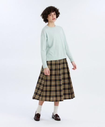 MACKINTOSH PHILOSOPHYのGREY LABEL コットンニットTシャツを使ったコーディネートを紹介します。|Rakuten Fashion(楽天ファッション/旧楽天ブランドアベニュー)1092332