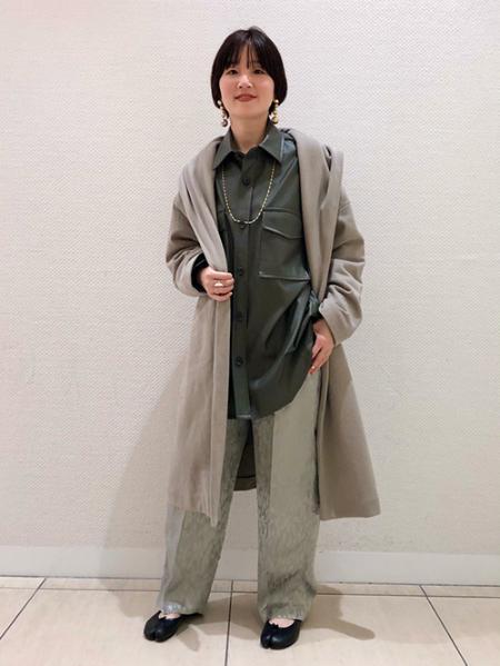 JOURNAL STANDARDのヘビーウラケフードロングコート◆を使ったコーディネートを紹介します。|Rakuten Fashion(楽天ファッション/旧楽天ブランドアベニュー)1093501