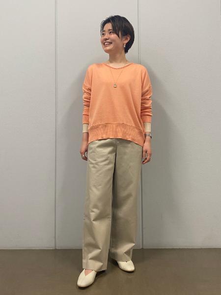 HUMAN WOMANの◆ブソルコラボニットを使ったコーディネートを紹介します。|Rakuten Fashion(楽天ファッション/旧楽天ブランドアベニュー)1093638