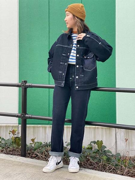 Levi'sのLR DENIM CHORE COAT IN THEIR EYESを使ったコーディネートを紹介します。|Rakuten Fashion(楽天ファッション/旧楽天ブランドアベニュー)1095254