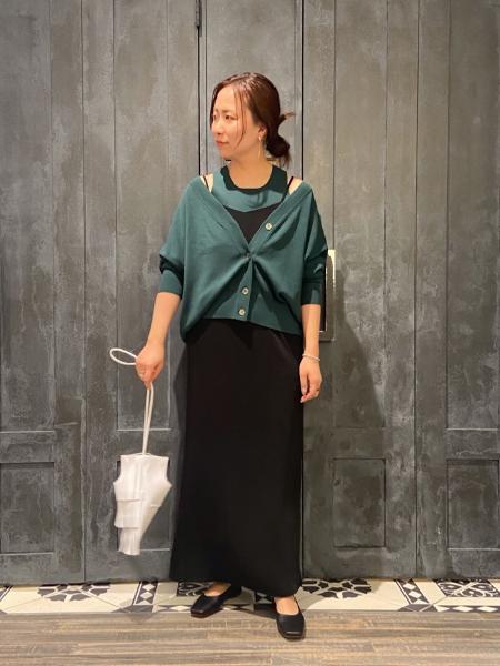 NOBLEのハイツイストニットアメスリアンサンブル◆を使ったコーディネートを紹介します。|Rakuten Fashion(楽天ファッション/旧楽天ブランドアベニュー)1096068