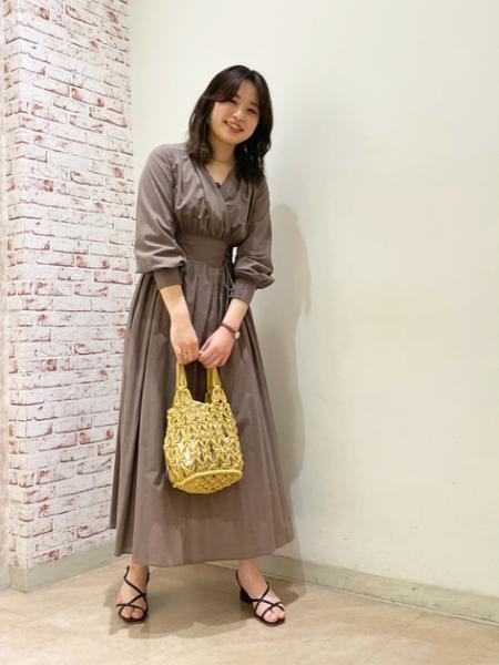 N. Natural Beauty Basic*のロープ編みトートバッグを使ったコーディネートを紹介します。|Rakuten Fashion(楽天ファッション/旧楽天ブランドアベニュー)1096091