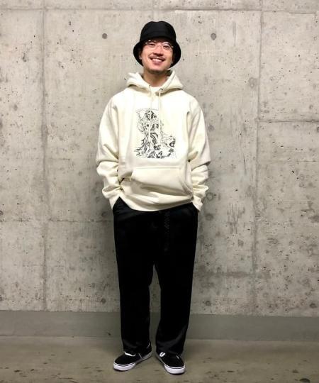 BEAMS TのGROVELAND / GRIM REAPER パーカを使ったコーディネートを紹介します。|Rakuten Fashion(楽天ファッション/旧楽天ブランドアベニュー)1096458