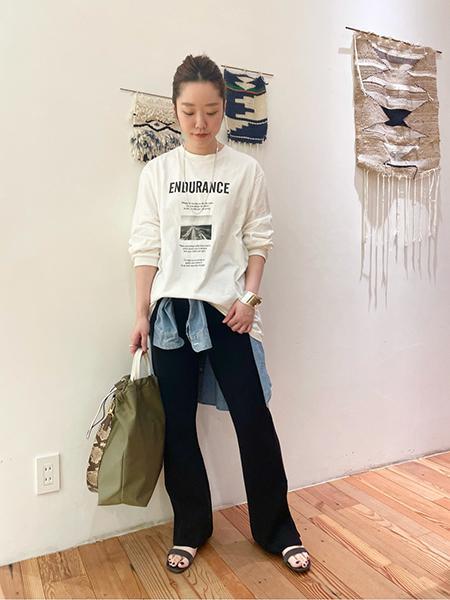 FRAMeWORKのダンガリーシャツ3◆を使ったコーディネートを紹介します。|Rakuten Fashion(楽天ファッション/旧楽天ブランドアベニュー)1098008