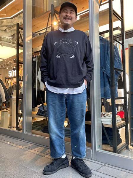 Levi'sのLS POKEMON ユニセックス TEE SNORLAXPUFF CAVIARを使ったコーディネートを紹介します。|Rakuten Fashion(楽天ファッション/旧楽天ブランドアベニュー)1098656