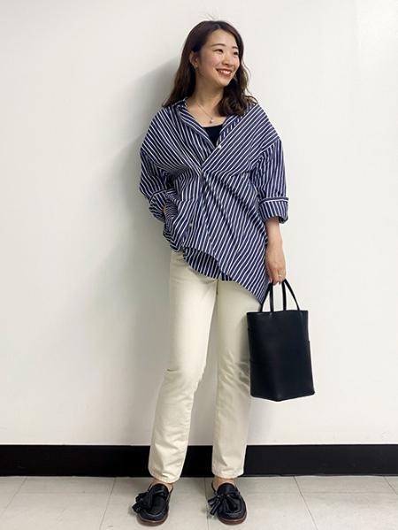 JOURNAL STANDARDのタイプライター3WAYシャツを使ったコーディネートを紹介します。|Rakuten Fashion(楽天ファッション/旧楽天ブランドアベニュー)1098808