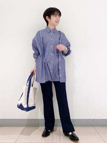 JOURNAL STANDARDのタイプライター3WAYシャツを使ったコーディネートを紹介します。|Rakuten Fashion(楽天ファッション/旧楽天ブランドアベニュー)1098809