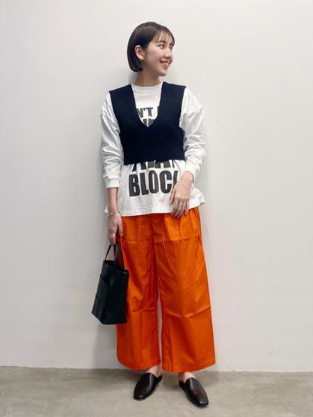 JOURNAL STANDARDのハイツイストコットンリブビスチェを使ったコーディネートを紹介します。|Rakuten Fashion(楽天ファッション/旧楽天ブランドアベニュー)1099035