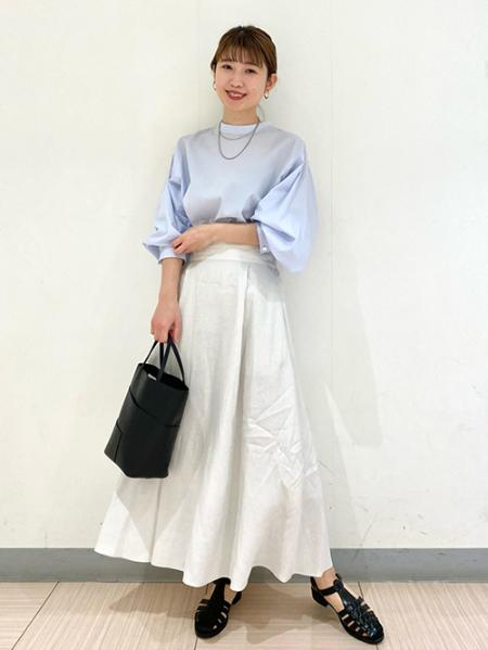 JOURNAL STANDARDのフレンチリネンスカート◆を使ったコーディネートを紹介します。|Rakuten Fashion(楽天ファッション/旧楽天ブランドアベニュー)1099065