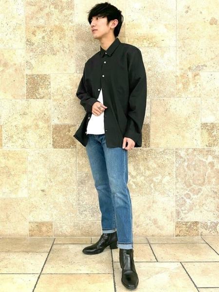 GAPの(M)Light Mid Rise Jeansを使ったコーディネートを紹介します。|Rakuten Fashion(楽天ファッション/旧楽天ブランドアベニュー)1100585