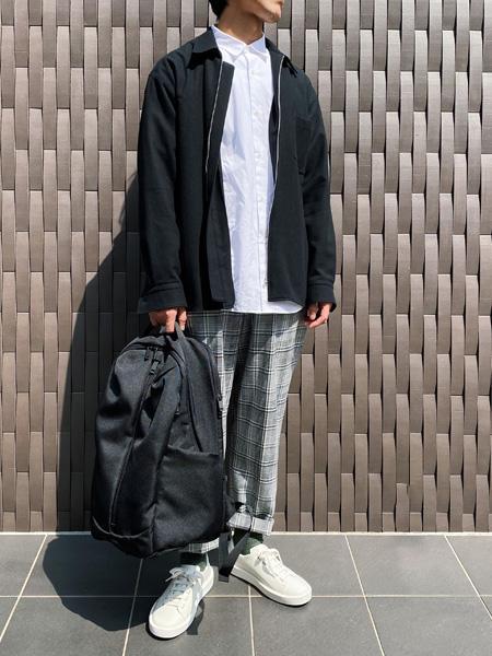 CAMPERの[カンペール] CUEVA リュックを使ったコーディネートを紹介します。|Rakuten Fashion(楽天ファッション/旧楽天ブランドアベニュー)1102056