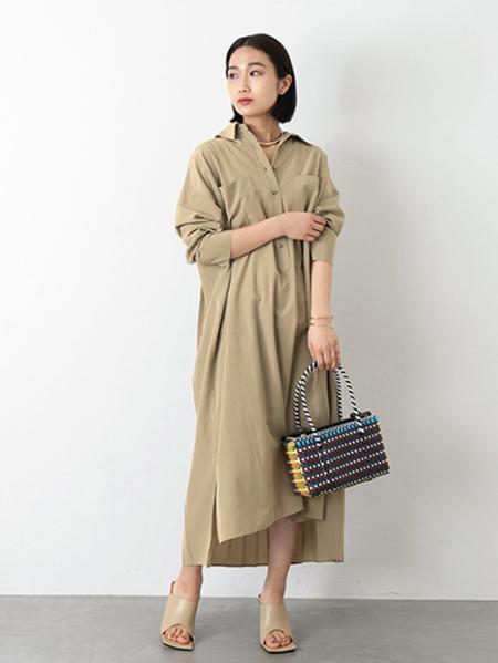 JOURNAL STANDARDのビンテージコットンシャツ ワンピース◆を使ったコーディネートを紹介します。 Rakuten Fashion(楽天ファッション/旧楽天ブランドアベニュー)1102208