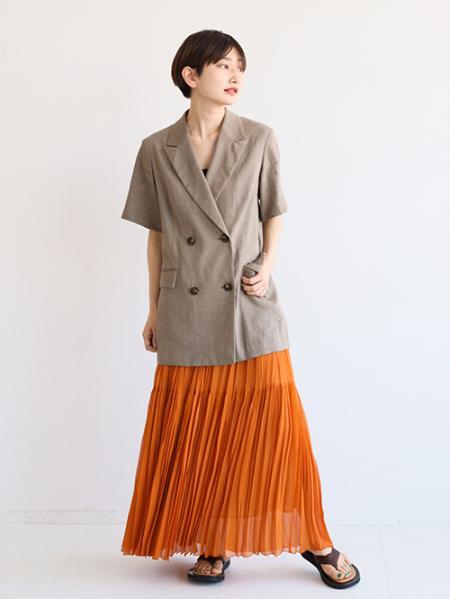 JOURNAL STANDARDのリネンハーフスリーブ ジャケット◆を使ったコーディネートを紹介します。|Rakuten Fashion(楽天ファッション/旧楽天ブランドアベニュー)1102218