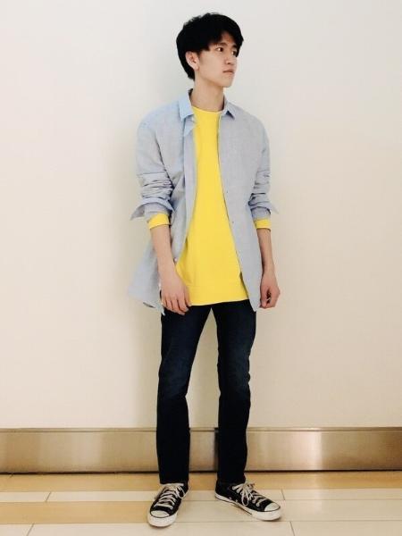GAPの(M)Linen-Cotton Shirtを使ったコーディネートを紹介します。|Rakuten Fashion(楽天ファッション/旧楽天ブランドアベニュー)1104141