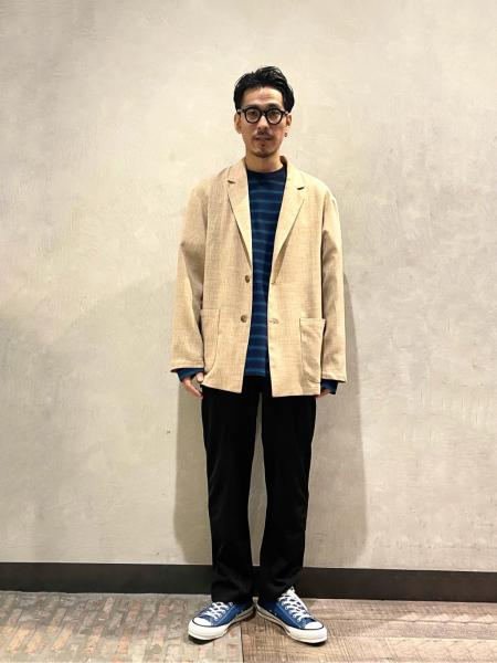 JOURNAL STANDARD relumeの【YSTRDY'S TMRRW / イエスタデイズトゥモロウ】BAGGY TEE LS COTTON 24/1を使ったコーディネートを紹介します。|Rakuten Fashion(楽天ファッション/旧楽天ブランドアベニュー)1104161