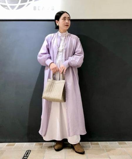 BEAMS WOMENのBEAMS BOY / ウェスタン ショートブーツを使ったコーディネートを紹介します。 Rakuten Fashion(楽天ファッション/旧楽天ブランドアベニュー)1104396