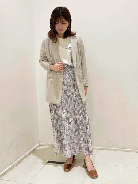 N. Natural Beauty Basic*のメッセージTシャツを使ったコーディネートを紹介します。|Rakuten Fashion(楽天ファッション/旧楽天ブランドアベニュー)1104543
